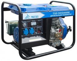 дизельная электростанция tss sdg 4000 e