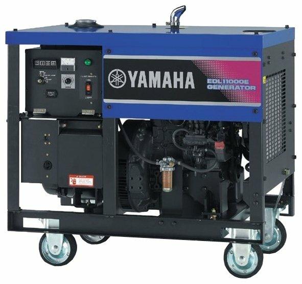 дизельная электростанция yamaha edl11000e