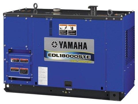 дизельная электростанция yamaha edl13000ste