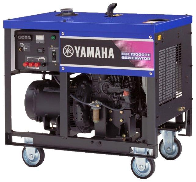 дизельная электростанция yamaha edl13000te