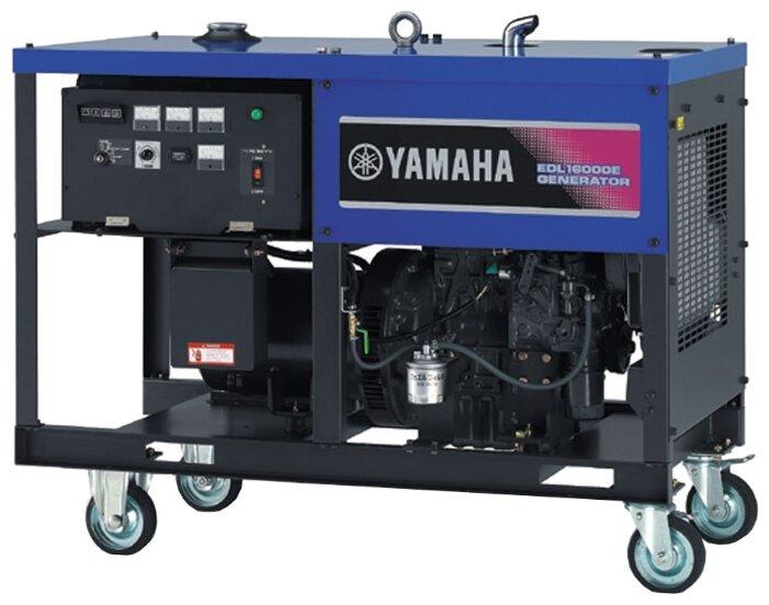 дизельная электростанция yamaha edl16000e