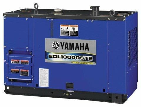 дизельная электростанция yamaha edl18000ste