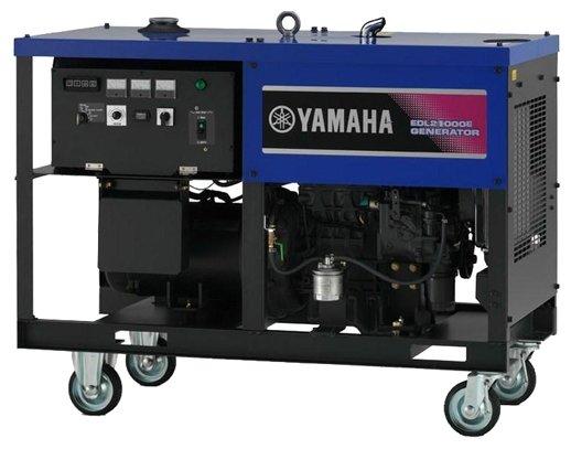 дизельная электростанция yamaha edl21000e