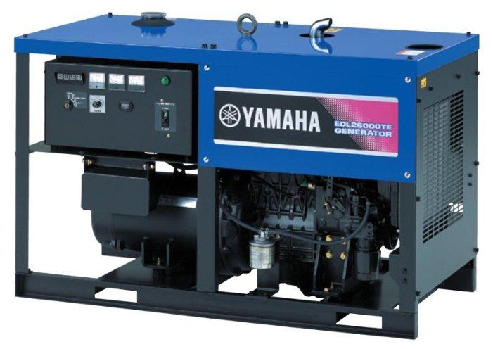 дизельная электростанция yamaha edl26000te