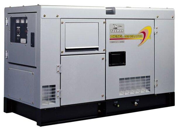 дизельная электростанция yanmar yeg150dshs