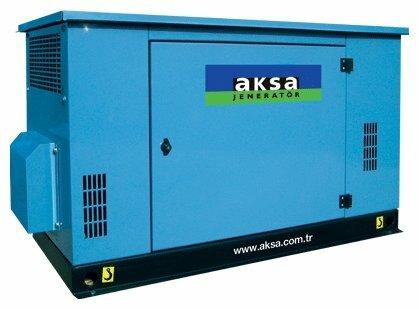 газовая электростанция aksa abg 14