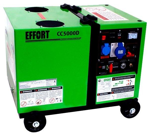 газовая электростанция effort cc5000d
