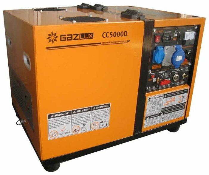 газовая электростанция gazlux сс5000d