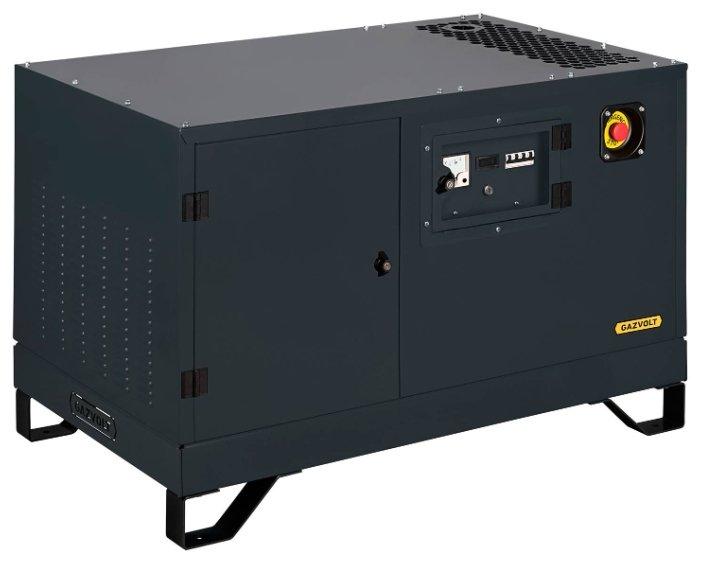 газовая электростанция gazvolt pro 12000 t neva 06