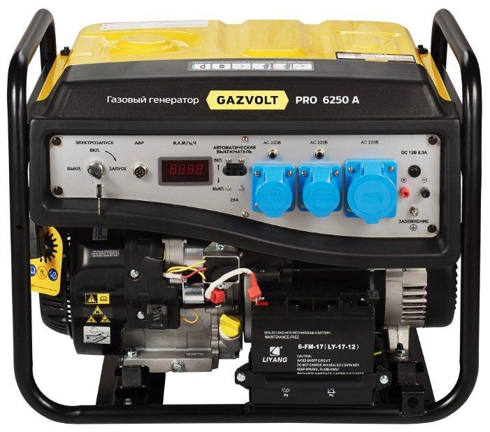 газовая электростанция gazvolt pro 6250 a 08