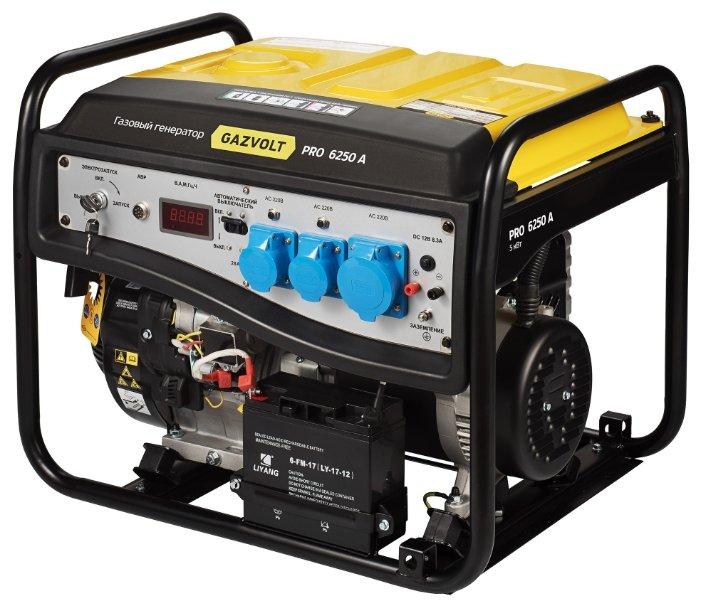 газовая электростанция gazvolt pro 7500 a