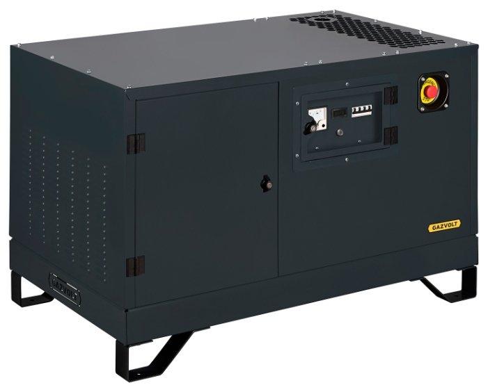 газовая электростанция gazvolt standard 15000 neva 01