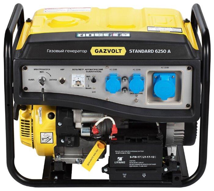 газовая электростанция gazvolt standard 6250 a