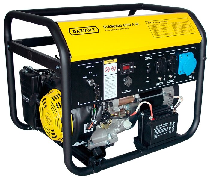 газовая электростанция gazvolt standard 6250 a se