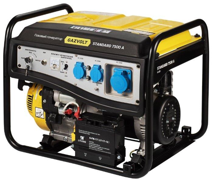 газовая электростанция gazvolt standard 7500 a
