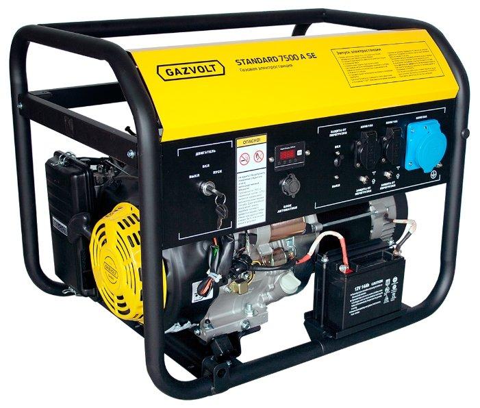 газовая электростанция gazvolt standard 7500 a se