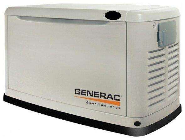газовая электростанция generac 5525