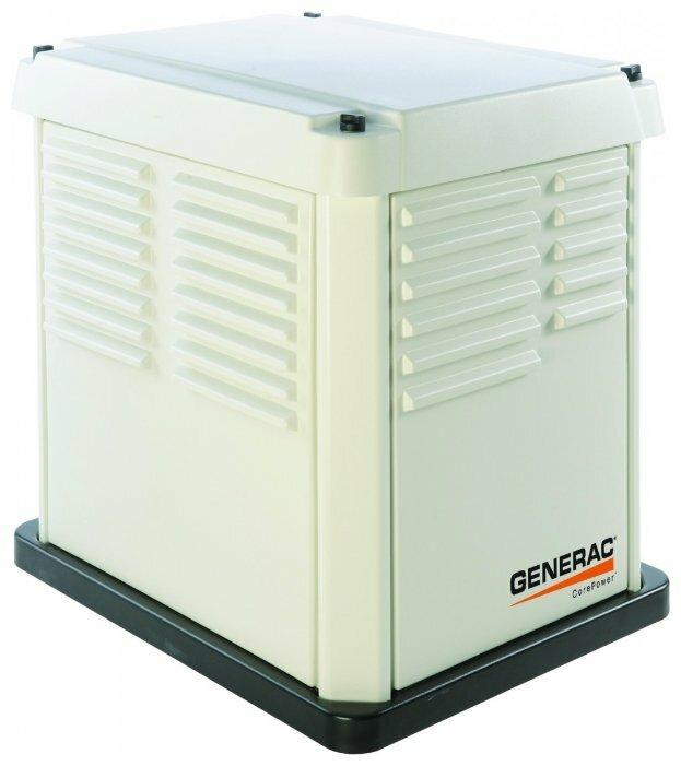 газовая электростанция generac 5837