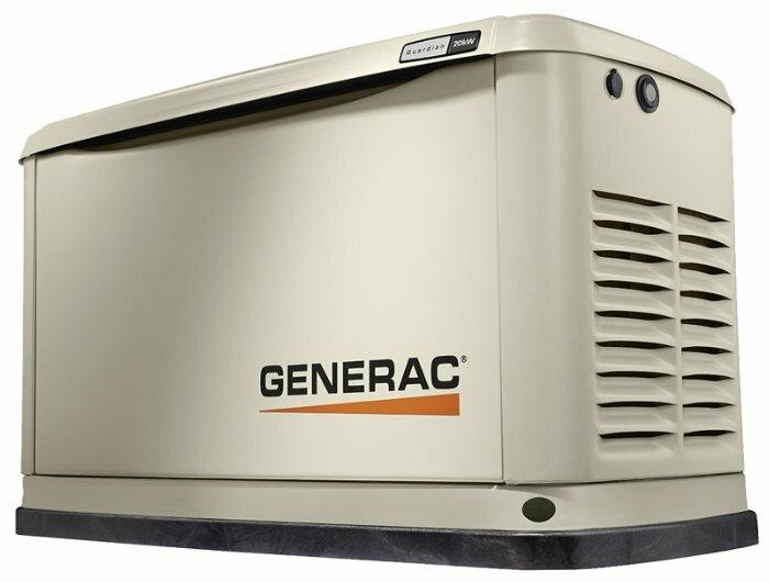 газовая электростанция generac 7045