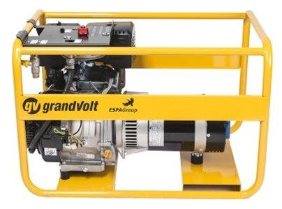 газовая электростанция grandvolt gvb 12000 m es g