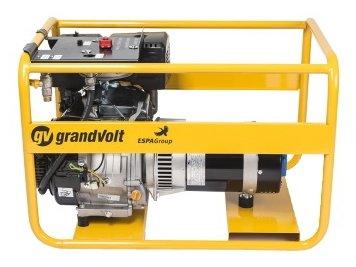 газовая электростанция grandvolt gvb 7000 t g