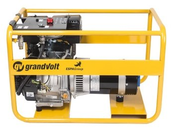 газовая электростанция grandvolt gvr 6000 m es g