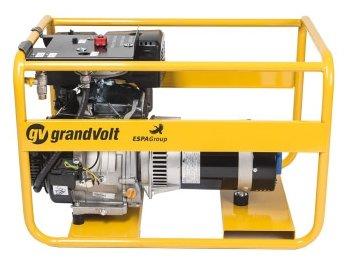 газовая электростанция grandvolt gvr 6000 m g
