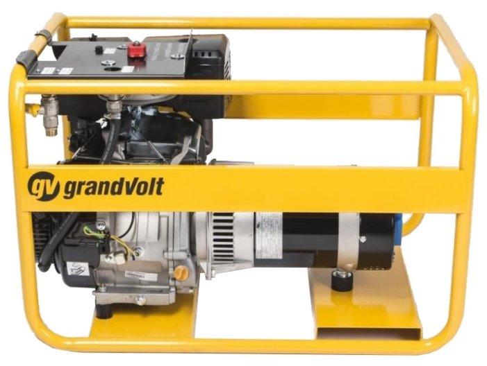 газовая электростанция grandvolt gvr 6600 m es ga