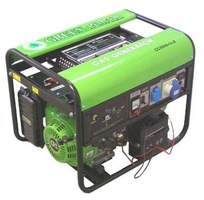 газовая электростанция green power cc6000 axt-ng/lpg 220