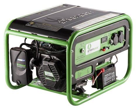 газовая электростанция greengear ge-2000e
