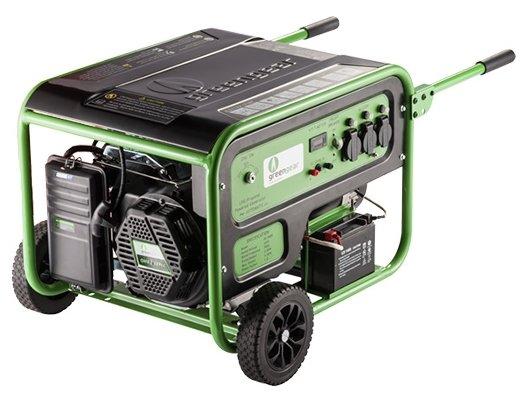 газовая электростанция greengear ge-6000