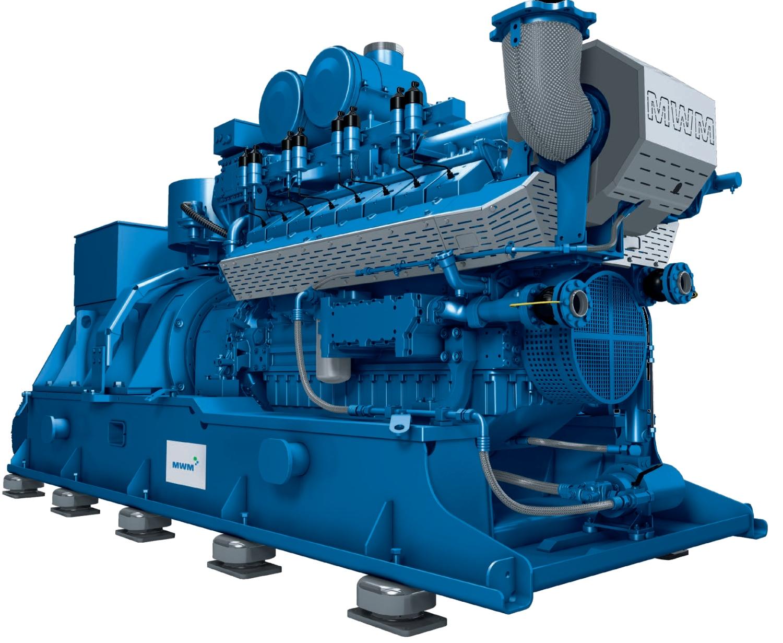 газовая электростанция mwm tcg 2016 v8
