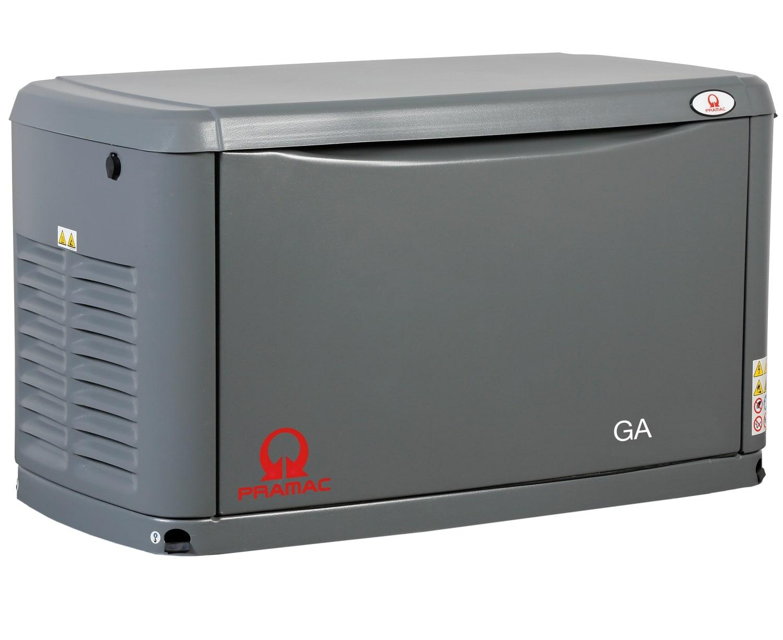 газовая электростанция pramac ga20000