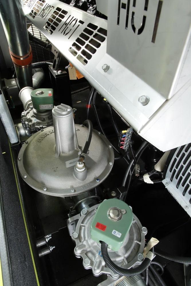 газовая электростанция pramac ggw500ma