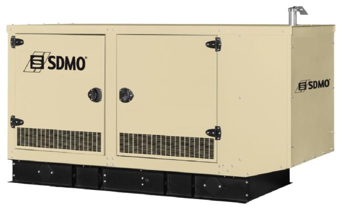 газовая электростанция sdmo nevada gz30