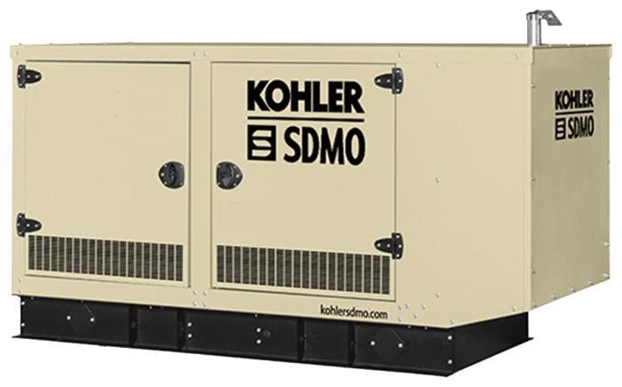 газовая электростанция sdmo nevada gz60