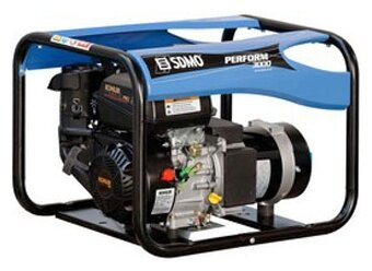 газовая электростанция sdmo perform 3000 gaz