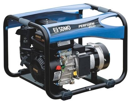 газовая электростанция sdmo perform 4500 gaz