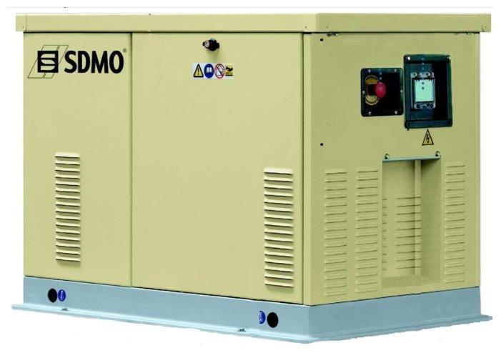 газовая электростанция sdmo res 16 tec