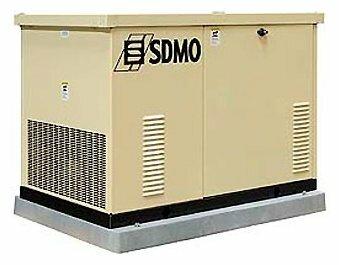 газовая электростанция sdmo res 17 u