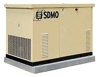 газовая электростанция sdmo res 18 ec