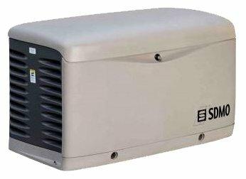 газовая электростанция sdmo resa 14 u