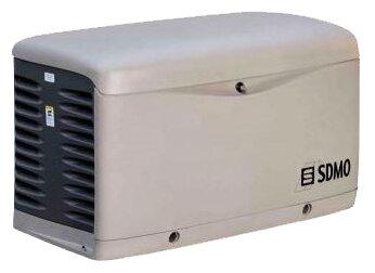 газовая электростанция sdmo resa 20 ec