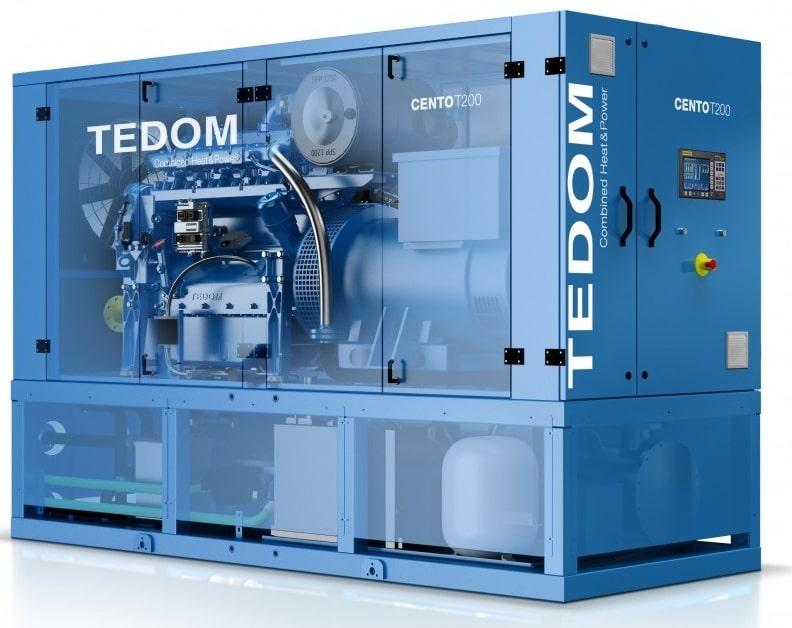 газовая электростанция tedom quanto d400