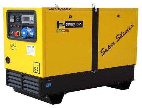 газовая электростанция wfm generators se12000-mhe