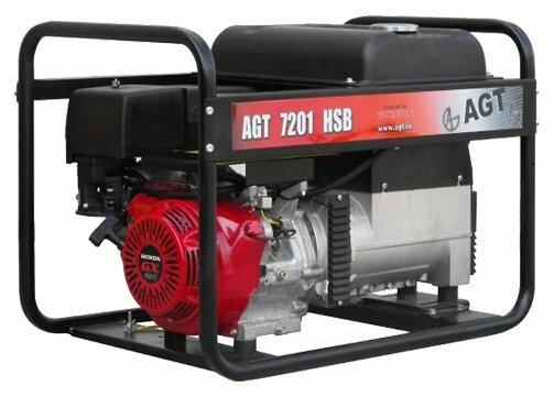бензиновая электростанция agt 7201 hsb r16