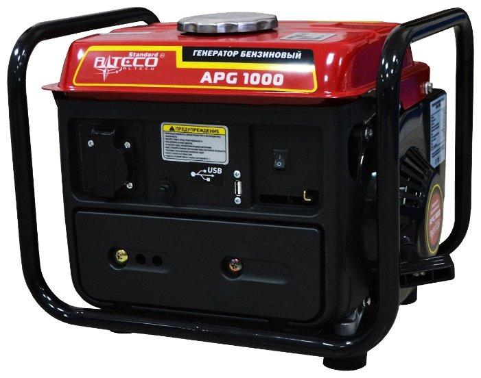 бензиновая электростанция alteco apg 1000