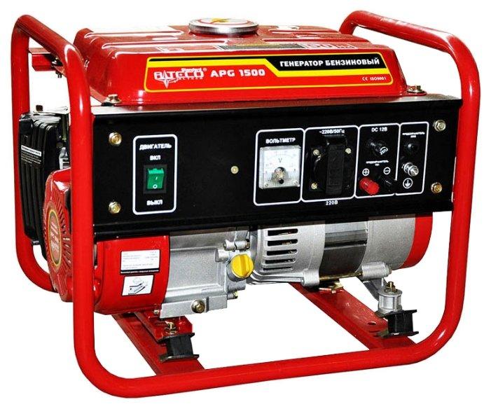 бензиновая электростанция alteco apg 1500