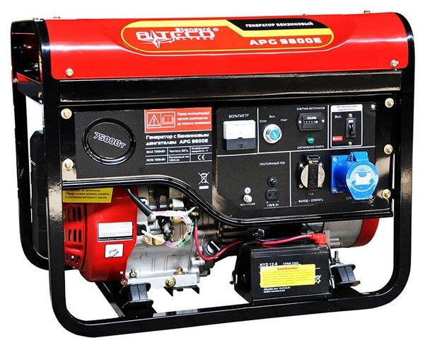 бензиновая электростанция alteco apg 9800 e