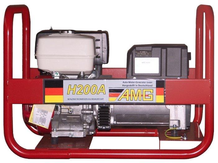 бензиновая электростанция amg h200a